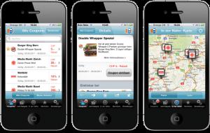 «Mobile Coupon»-iPhone-App Screenshots