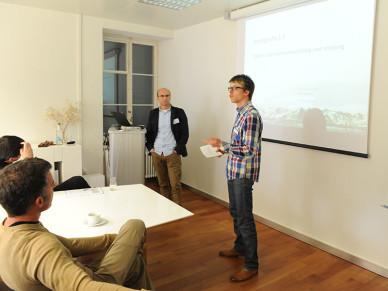 Zeix Maps Event 2013 - «Total lokal»: Benedik Heil und Dr Rene Sieber