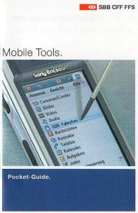 Pocket Guide SBB.