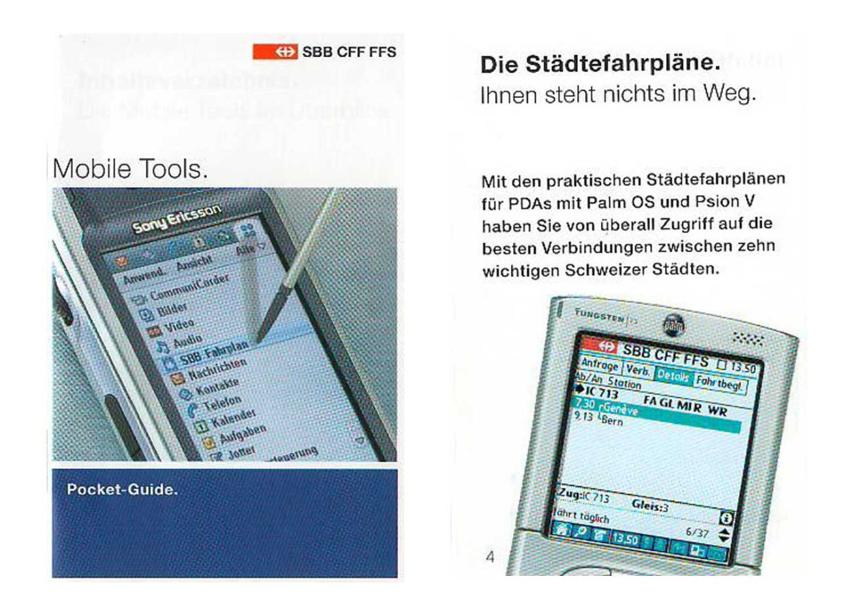 Pocket Guide SBB.