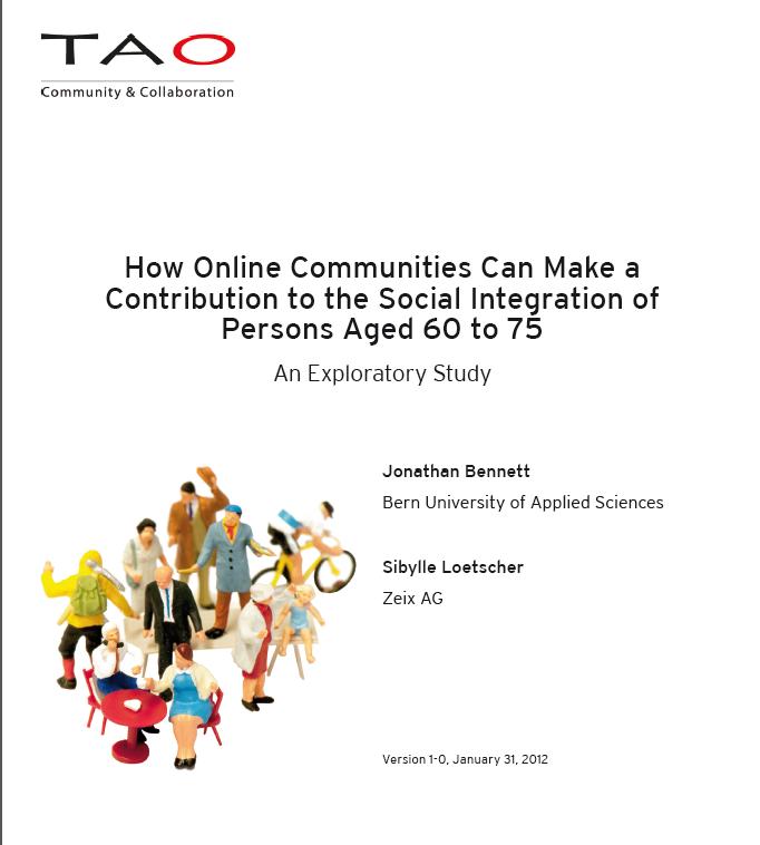 Artikelbild von Online Communities & Senioren (Studie)