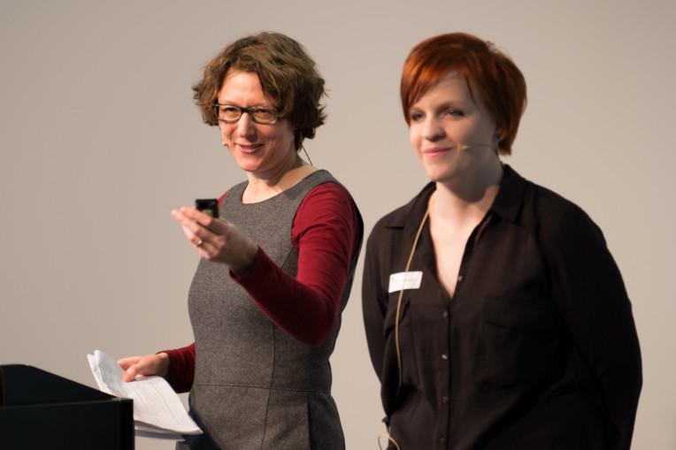Andrea Rosenbusch und Fabienne Gafner