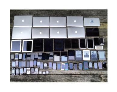 Geräte, wohin das Auge reicht: von der Smartwatch bis zum Laptop