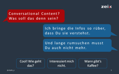 Was ist Conversational Content?
