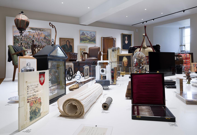 Ansicht von diversen Objekten aus der Dauerausstellung