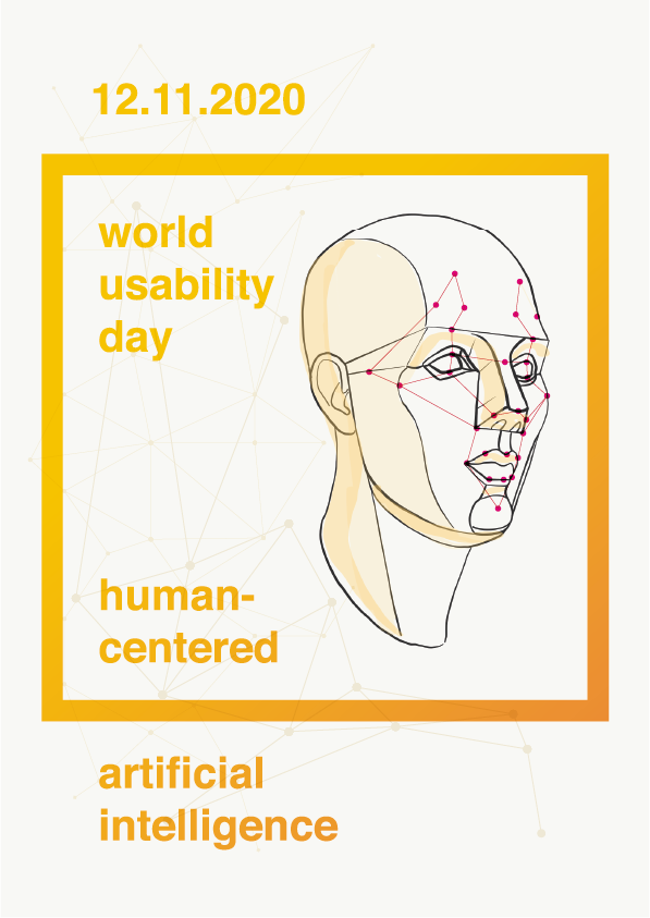 Biometrische Gesichtsvermessung als Illustration für den World Usability Day am 12.11.2020