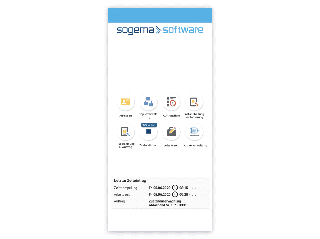Groupe E Smartphone Screen