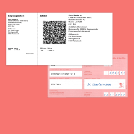 QR-Code Einzahlungsschein