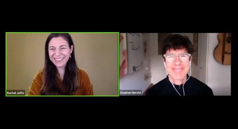 Q&A Session: Rachel Jaffe und Stephen Harold